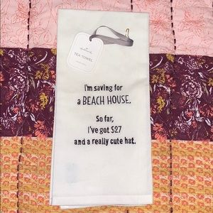 Hallmark Tea Towel